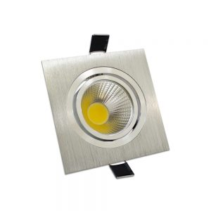 Downlight LED 3W Direccionable Cuadrado