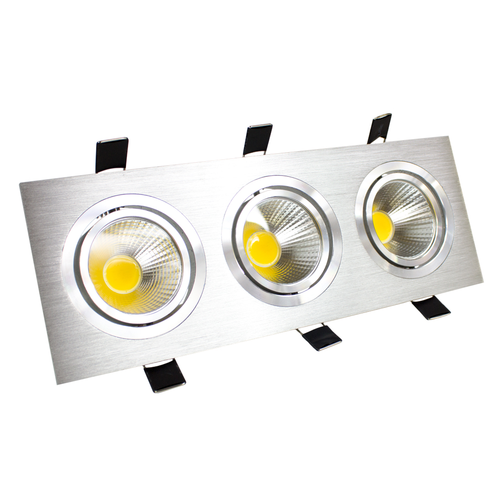 Downlight LED 3x3W